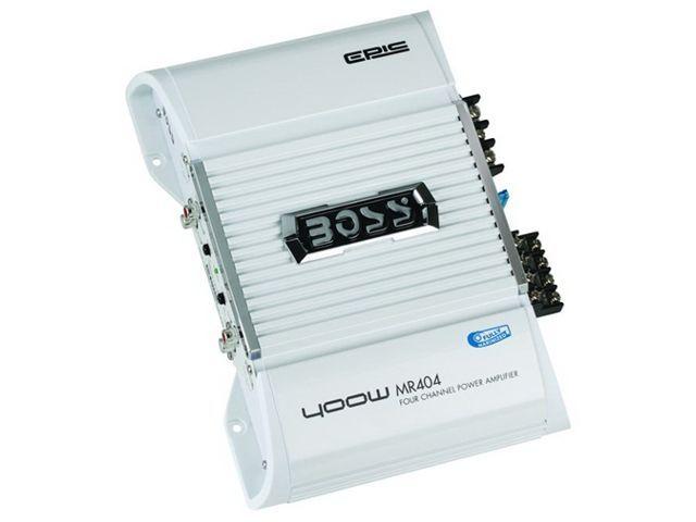 Amplificador de Potência Marinizado Boss Marine 400 Watts - MR404