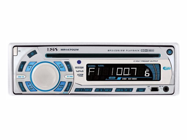 CD/MP3 Player Marinizado Boss Marine - MR1470UW