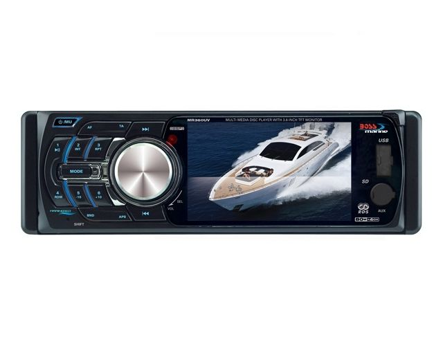 DVD/MP3 Player Marinizado Boss Marine - MR360UV