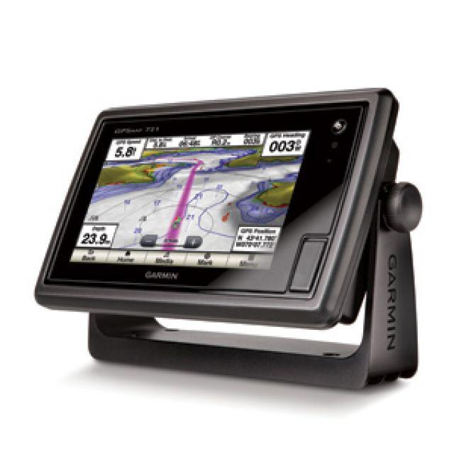 GPS e Sonar / ChartPlotter Garmin GPSMAP 721xs c/ Carta Náutica (s/ Transducer)