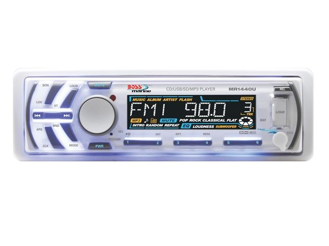 CD/MP3 Player Marinizado Boss Marine - MR1440U