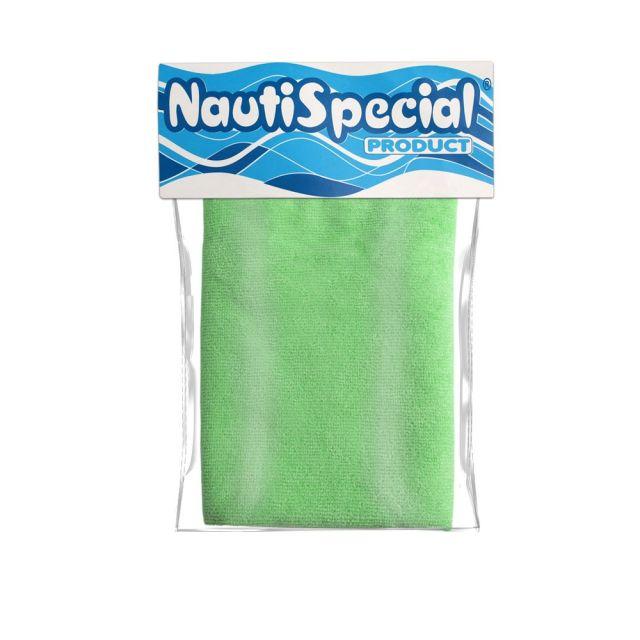 Pano de Microfibra p/ Lavar Lancha NautiSpecial - 40 x 75 - Verde