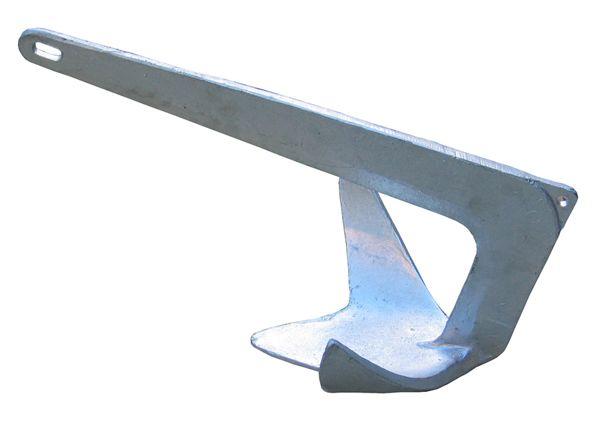Âncora Galvanizada a Fogo - Modelo: Bruce - Tam: 2,5kg