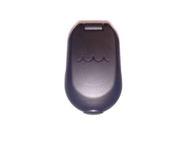 Bocal Plástico Oval p/ Deck 1-1/2 pol - Preto - Água