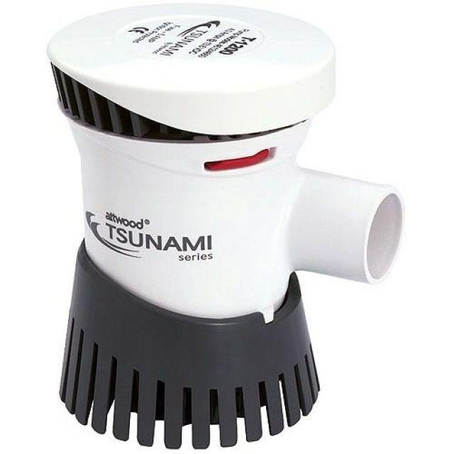 Bomba De Porão Tsunami 1.200 Gph - 4.650 Litros Hora - 12v