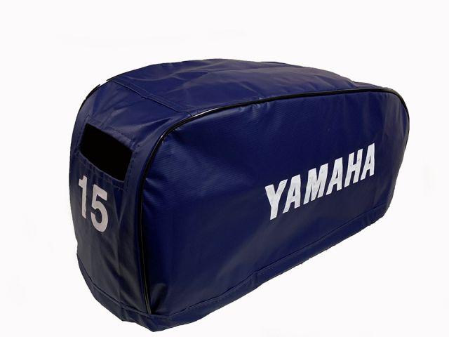 Capa de Capô p/ Motores de Popa - Yamaha 15 HP FMHS Após 97