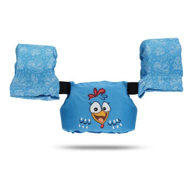 Colete Salva-Vidas Infantil Kids - Galinha Pintadinha - Ativa - Azul - Homologado