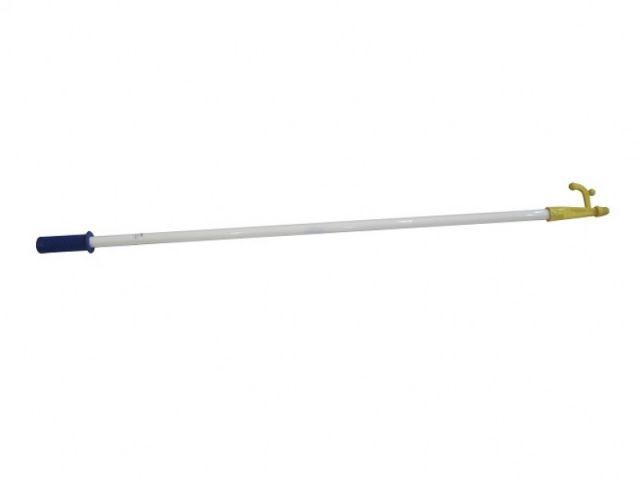 Cabo de Alumínio Branco c/ Croque NautiSpecial - 1,6m