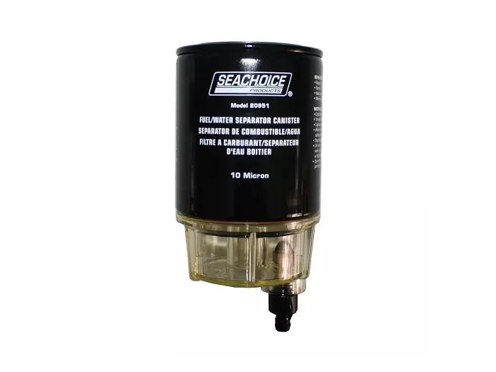 Filtro de Combustível Separador de Água c/ Dreno Seachoice