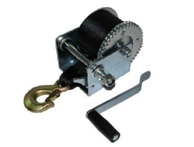 Guincho Manual p/ Carreta c/ Fita em Nylon - 800 lb - Ruptura: 544kg