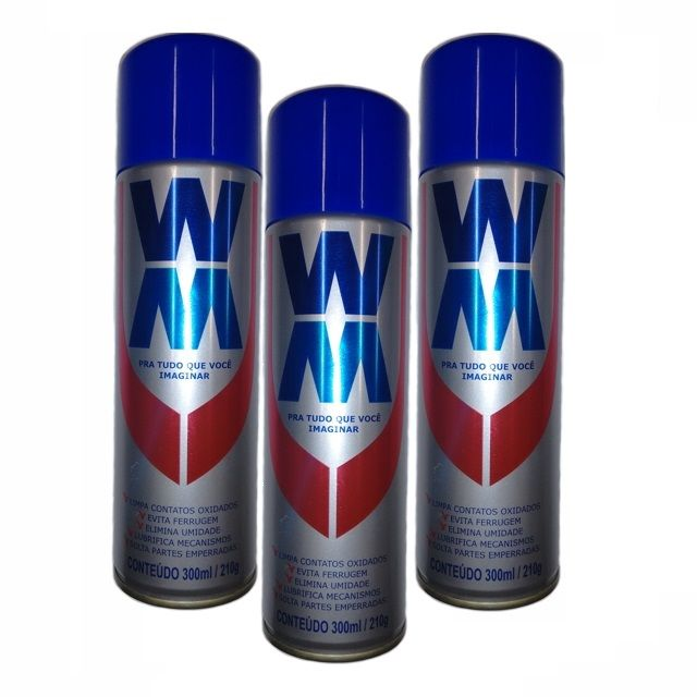Resina Spray Multiuso WM - 300 ml - LEVE 3 PAGUE 2
