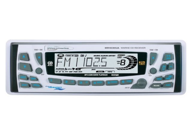 CD/MP3 Player Marinizado Boss Marine - MR1630UA