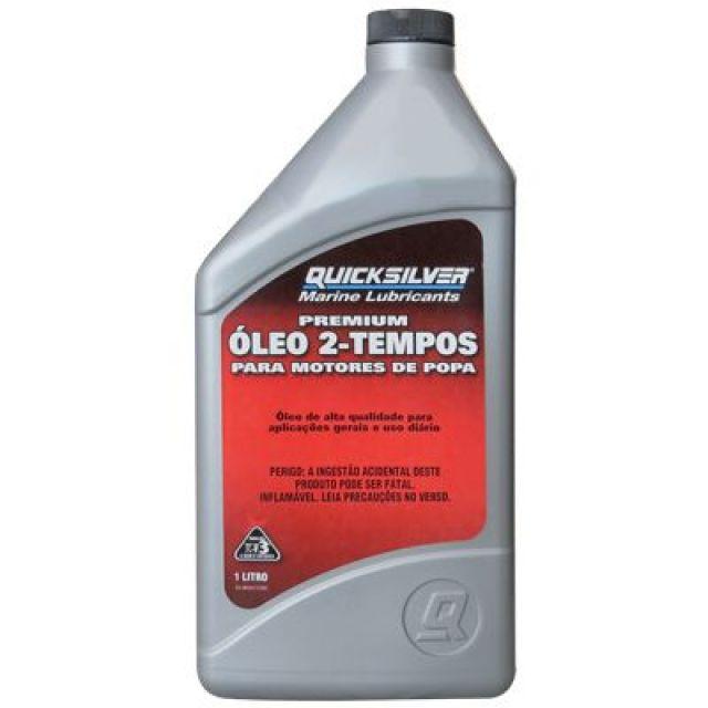 Óleo Quicksilver Premium TC-W3 p/ Motores 2T - 1 Litro