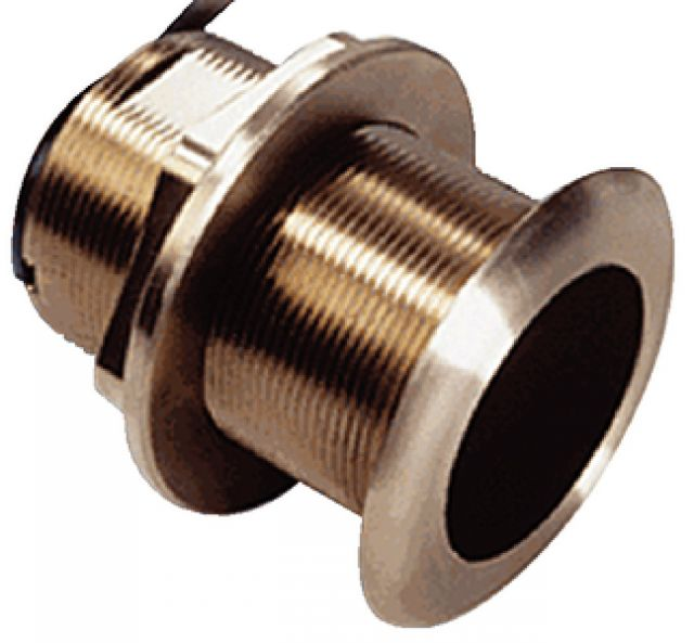 Transducer de Bronze Thru-Hull Garmin - 8 pinos - 600w