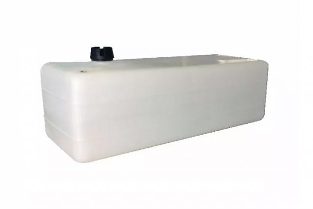 Tanque de Combustível p/ Embarcações s/ Pescador - Branco - 60 litros
